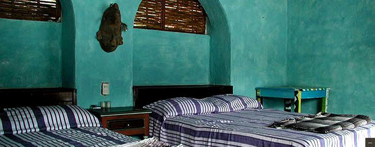 Rooms and Casitas at The Hotel Lagunita Yelapa, Mexico, Puerto Vallarta.