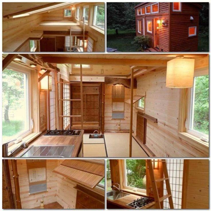 interior tiny trailer home