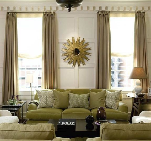 Green Curtains black and green curtains : 1000+ images about Black maybe? Cream yes!!!!!! on Pinterest ...
