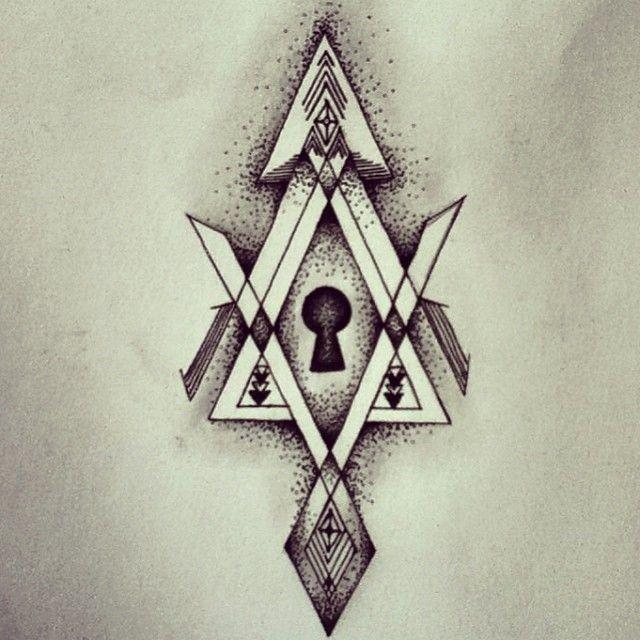 deviantART: More Like Keyhole Tattoo design by Rachhhh566