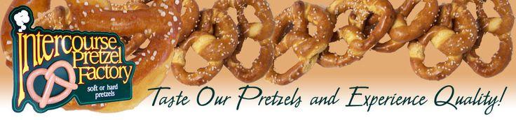 Intercourse Pretzel Factory - Lancaster County, PA - Soft, Hard Pretzles - Sprinkles