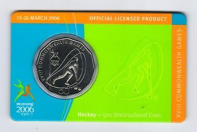 2006 ram 50 cent unc coin - melbourne #commonwealth #games - #hockey,  View more on the LINK: 	http://www.zeppy.io/product/gb/2/111228121254/