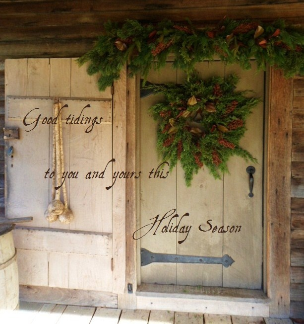 The straps on the door with the wreath must be for show only? Or does that door open out? & 33 best Primitive Doors images on Pinterest | The doors Windows and ...