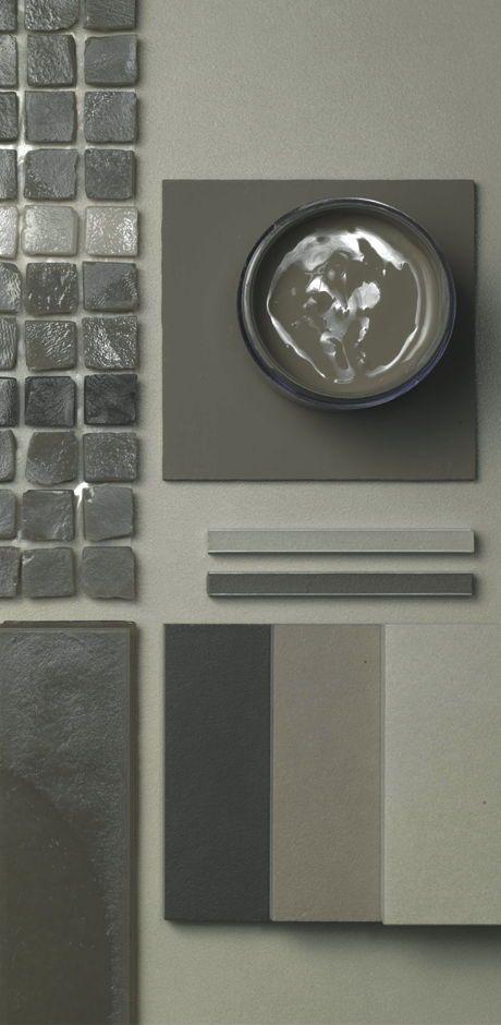 Ceramica cemento e rivestimento con colori coordinati: Neutra Casamood