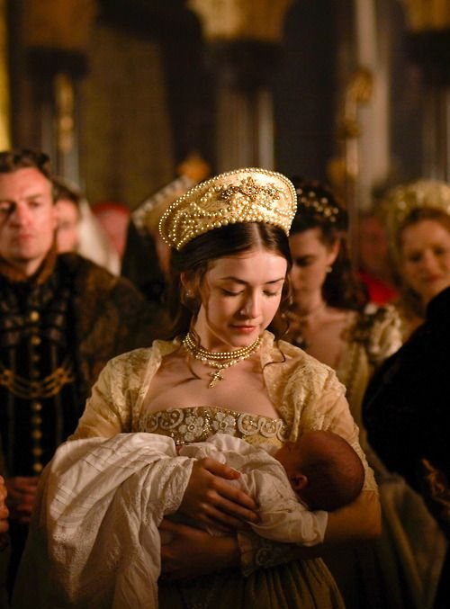 Mary and her brother Edward, The Tudors