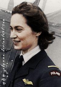 Jadwiga Piłsudska-Jaraczewska (born February 20, 1920, in Warsaw, Poland) - Daughter of Marshal Józef Piłsudski. She served in the Air Transport Auxiliary during the Second World War.