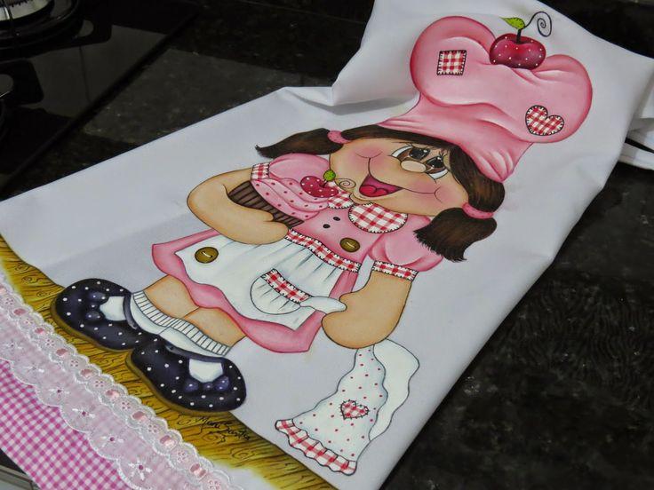 Artes Mariana Santos: Projeto: Cozinheira feliz!