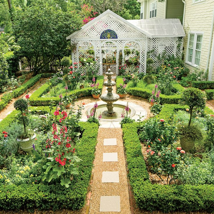 25 best ideas about cameron southern charm on pinterest for Creating a courtyard garden