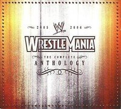WWE WrestleMania - The Complete Anthology Vol. 5 - 2005-2006 (WrestleMania XX...