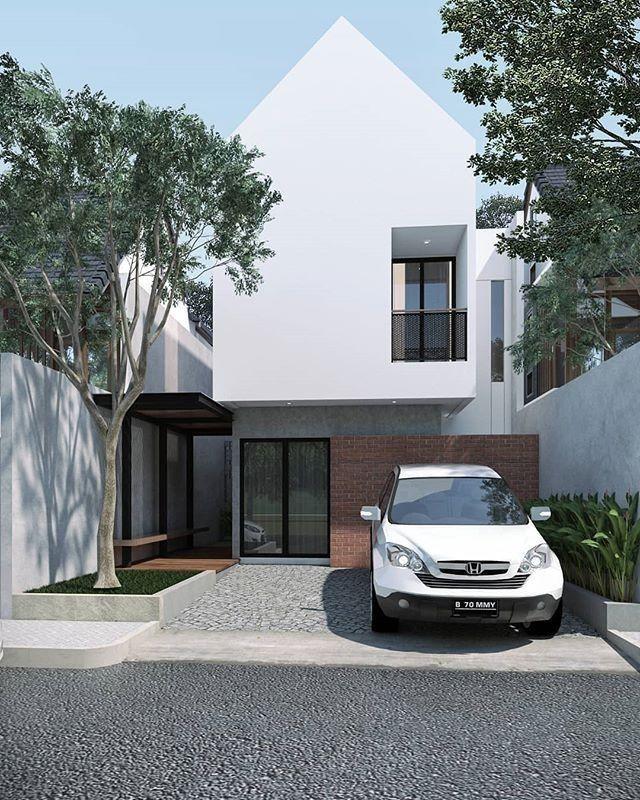 Minimalist Exterior House Design Ideas: 56 Minimalist Home Exterior Decoration Ideas