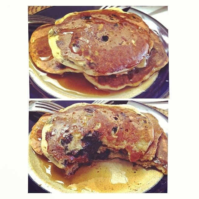 MY OWN RECIPE! Oil Free, Gluten Free, Vegan Pancakes. This is my version of McDougall recipe for blueberry pancakes. Great for anyone with heart problems. ...