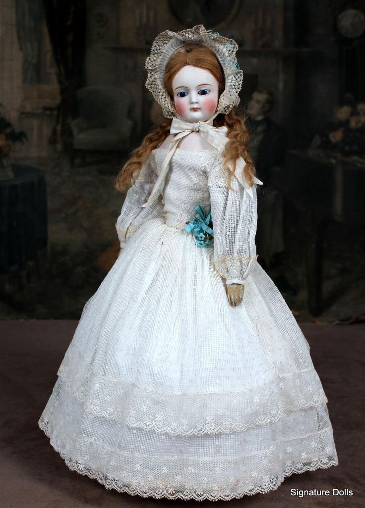 Early German Fashion Lady Doll on Lachmann Body from signaturedolls on Ruby Lane