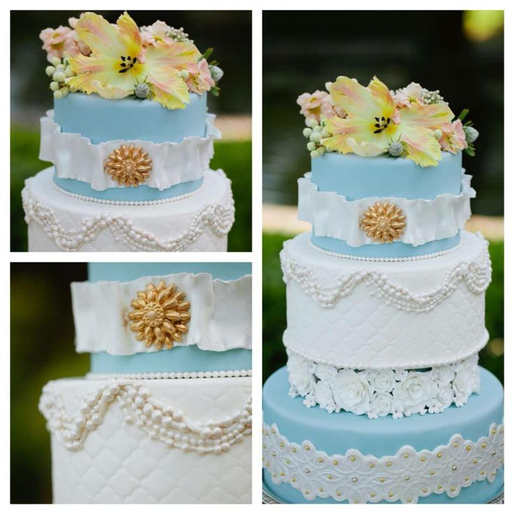 tiffany blue and gold wedding cake blue white and gold wedding cake blue gold 20992