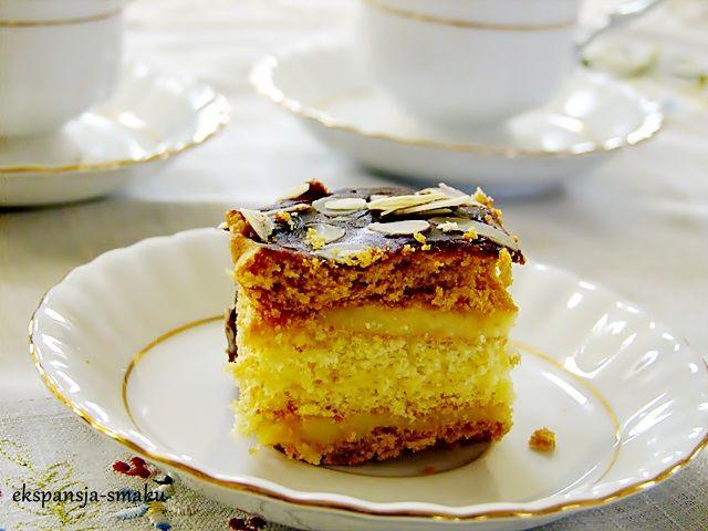 miodownik ciasto miodowe z masą