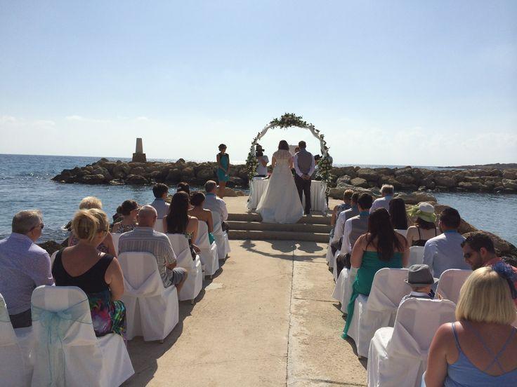 Cyprus Dream Weddings, our exclusive wedding pier