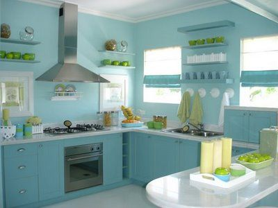 78 best blue kitchen cabinets images on pinterest | blue kitchen