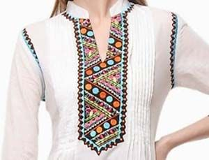New Neck Designs 2016 for Salwar Kameez, Punjabi Suits Kurti | PakistaniLadies.Com