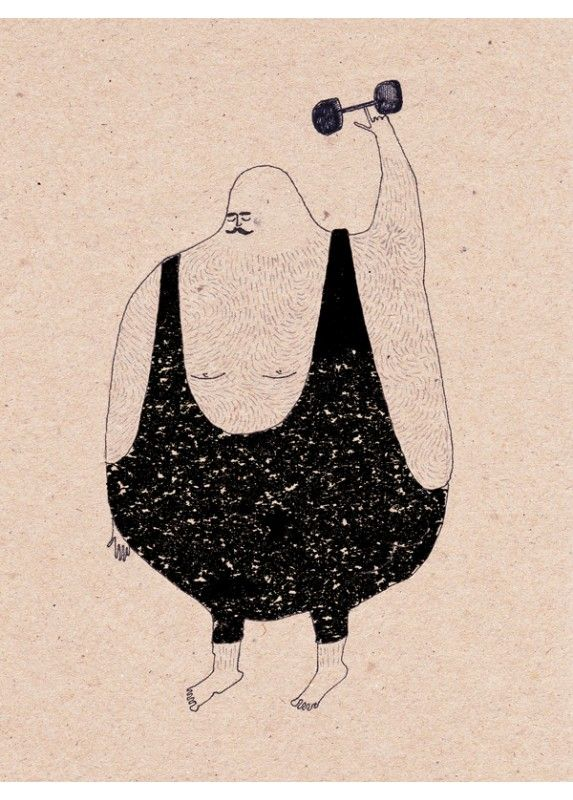 Anna Maria Lubinska - Strong - Poster en édition limitée pour L'Affiche Moderne