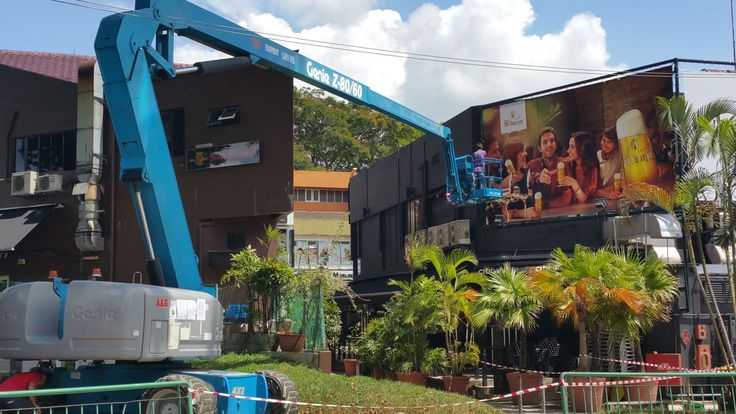 Aerial lift scissors lift singapore with images boom