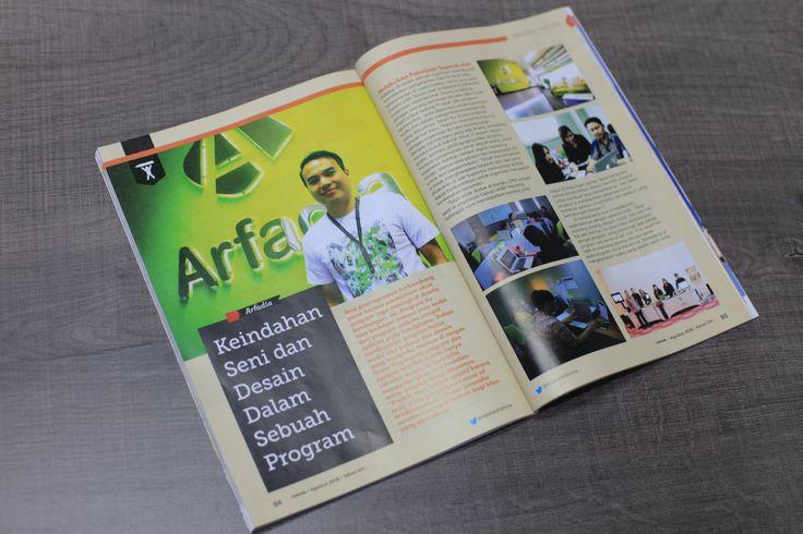 Tessar Napitupulu - Keindahan seni dan desain dalam sebuah program aplikasi.  www.arfadia.com www.media-iklan.id