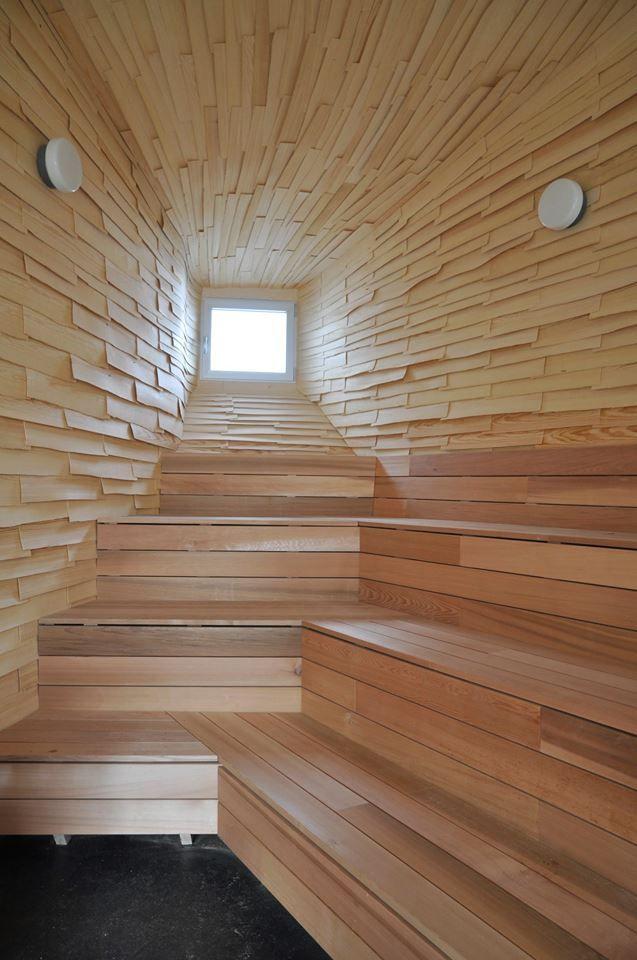 Scandinavian Sauna – Reclaimed / Skandinavisk Bastu – Återanvänd