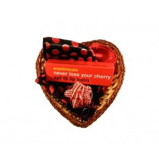 Aranjament cadou Lady cherry - http://livediva.ro/cadouri-online/Secret-Santa-cadouri-pentru-colegi