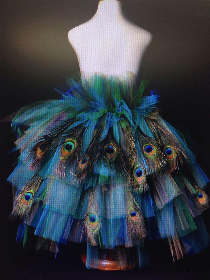 Peacock tutu
