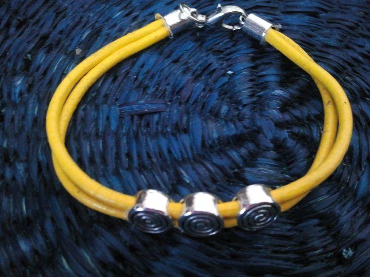 Yellow Leather & Zamak