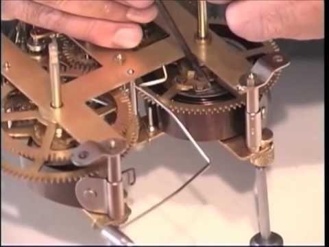 Dr. Time's Clock Repair-Part 1-Antique Clock Overhaul - YouTube