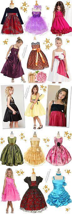 Новогодние платья для девочек: 28 самых красивых детских платьев к Новому году 2014