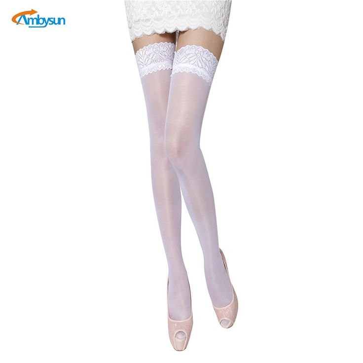 2017 New Arrival Sexy Lady White Thin Stockings Sheer Thigh High Pantyhose Women Cuban Heel Stockings Chaussette Dentelle Femme #Pantyhose heels http://www.ku-ki-shop.com/shop/pantyhose-heels/2017-new-arrival-sexy-lady-white-thin-stockings-sheer-thigh-high-pantyhose-women-cuban-heel-stockings-chaussette-dentelle-femme/