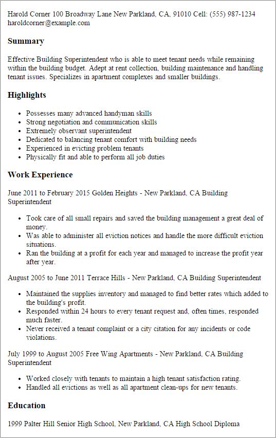 Professional building manager resume , Building Manager Resume , Interested in becoming a building manager? Learn about making a building manager resume here, complete with responsibilities, salary, and tip of preparing a resume.   Check more at http://templatedocs.net/building-manager-resume