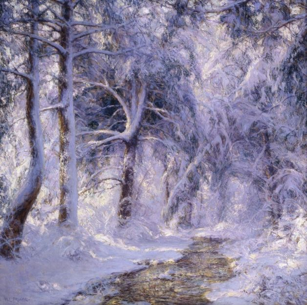 White World - Walter Launt Palmer (1854-1932)