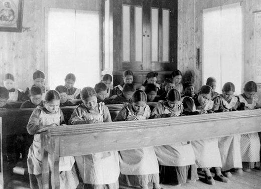 Britney Schultz Truth-out Tue, 12 Jul 2016 16:23 UTC   © Library and Archives Canada In a photo taken around 1936, Aboriginal Canadians attend a school at Fort Resolution in the Northwest Territori… https://winstonclose.me/2016/07/17/cultural-genocide-the-plight-of-indigenous-children-state-violence-oppression-by-britney-schultz/