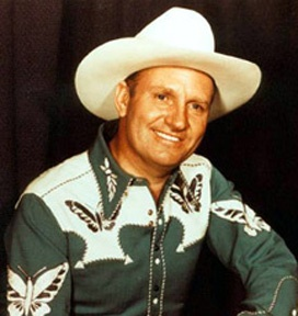 Gene Autry ...  One of the first genuine singing cowboys–after John Wayne ...