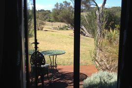 Mornington Peninsula Accommodation | Harmony Bed & Breakfast Tea Tree suite patio