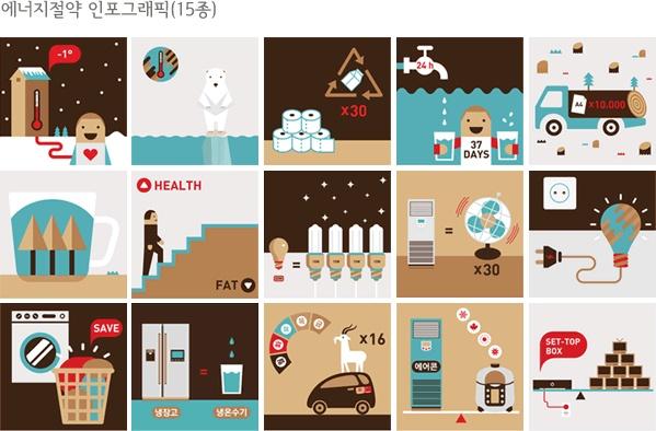 서울시에서 개발한 _ 에너지절약 인포그래픽