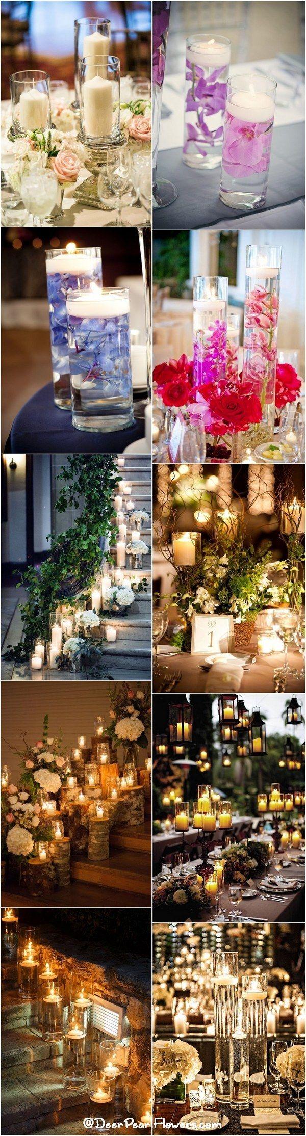 40 Chic Romantic Wedding Ideas Using Candles