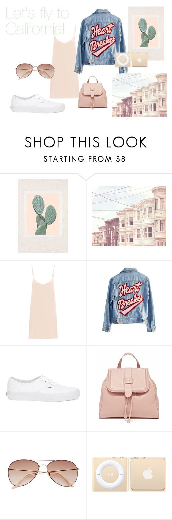 CA! by slounis on Polyvore featuring moda, Raey, High Heels Suicide, Vans and H&M