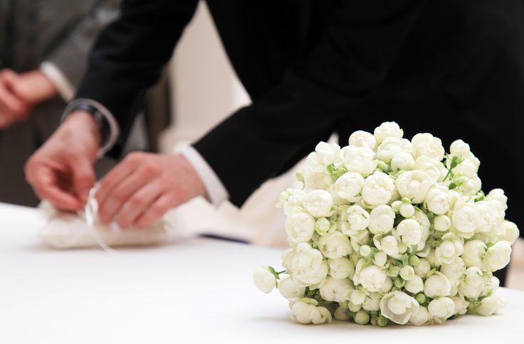 Bouquet di roselline Polyantha