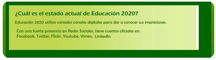 ¿Qué Redes Sociales ocupa Educación 2020?