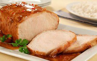 Na Cozinha Com...: Lombo de porco assado com cerveja
