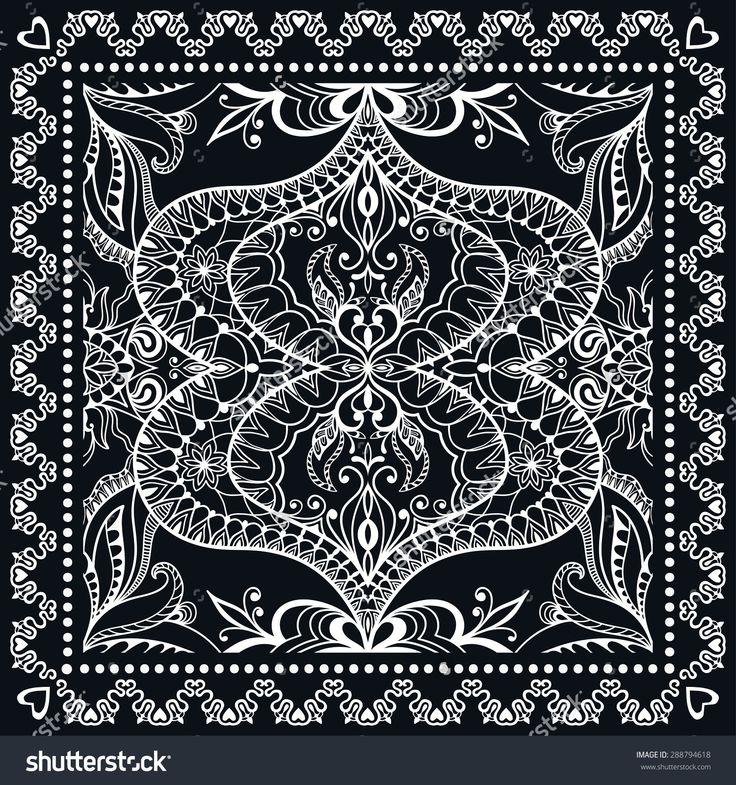 stock-vector-black-bandana-print-silk-neck-scarf-or-kerchief-square-pattern-design-style-for-print-on-fabric-288794618.jpg (1500×1600)