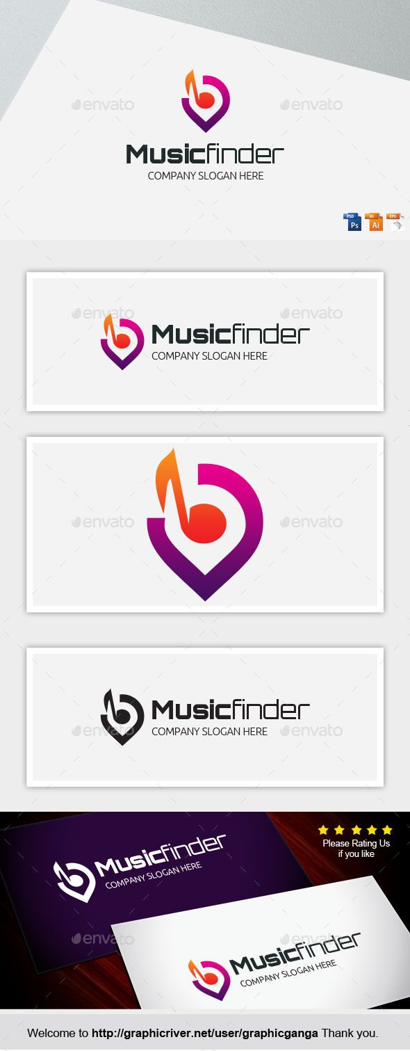 MusicFinder — Photoshop PSD #finder #noise • Available here → https://graphicriver.net/item/musicfinder/8897708?ref=pxcr