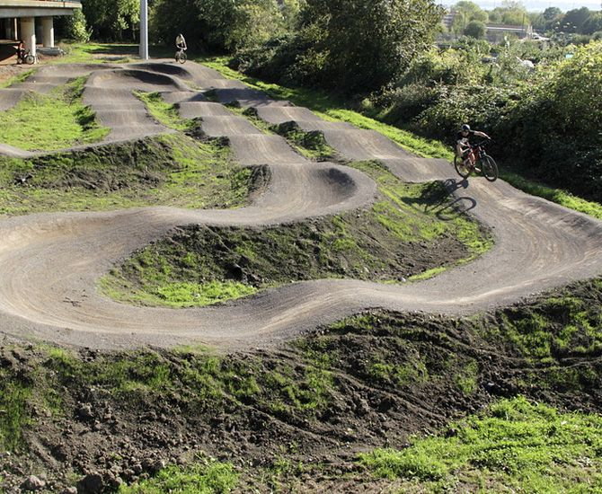 18 best Back Yard Pump Tracks images on Pinterest Bike trails