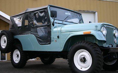 Rare CJ-6.  Awesome car.