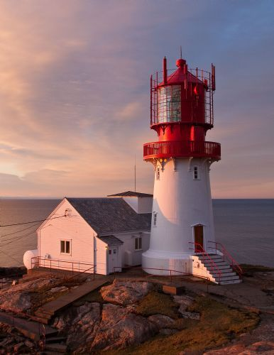 Lindesnes Lighthouse - the southernmost point in Norway-possible place to start looking for ancesters