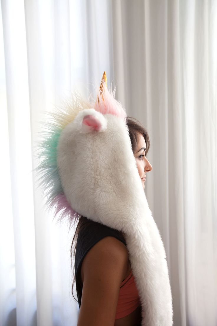 Magicorn// Not a fan of spirit hoods but yes to a unicorn one, I would just wear it at home on cold winter nights though!