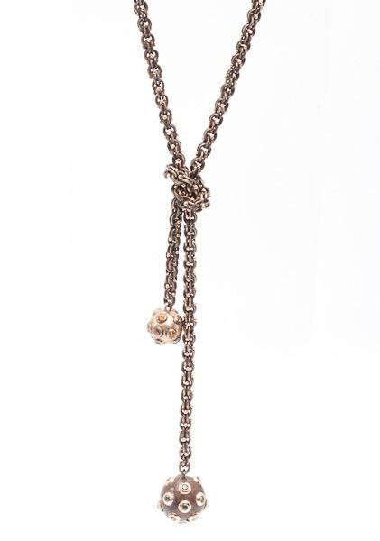 Sevan Bicakci, diamond, rose gold and silver lairet  www.dresscodebygita.com