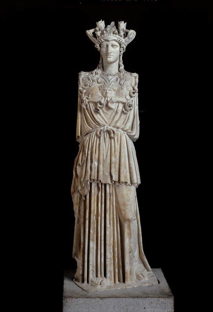 Statue of Athena Parthenos (the Virgin Goddess)      Roman, 2nd or 3rd century A.D.
